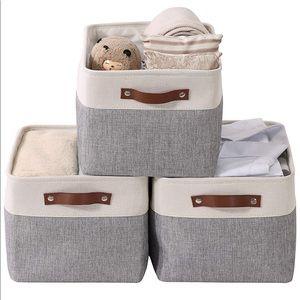 🎀NEW Storage Baskets Organizer SET🎀